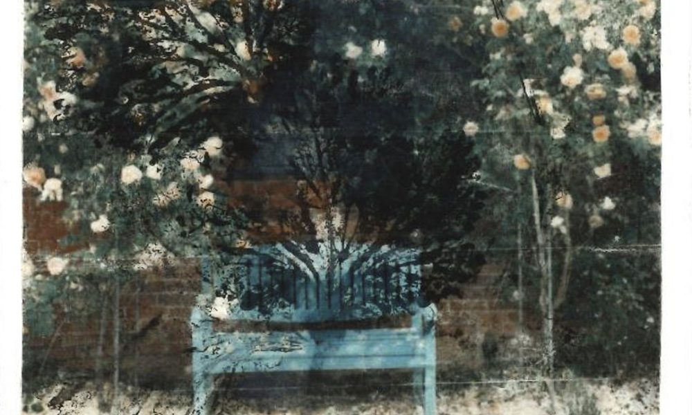 bench by a wall