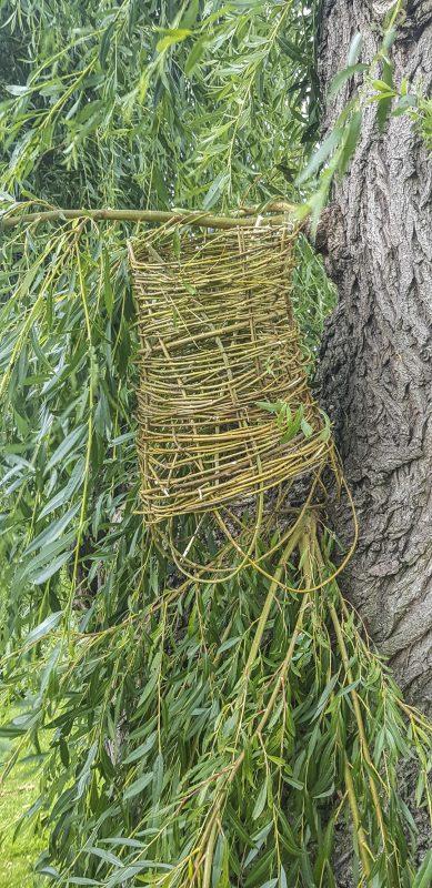 Willow woven skirt