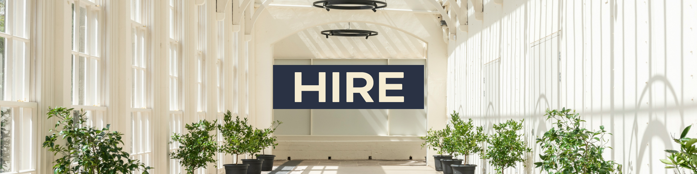 Hire Ingestry Orangery - click for more details