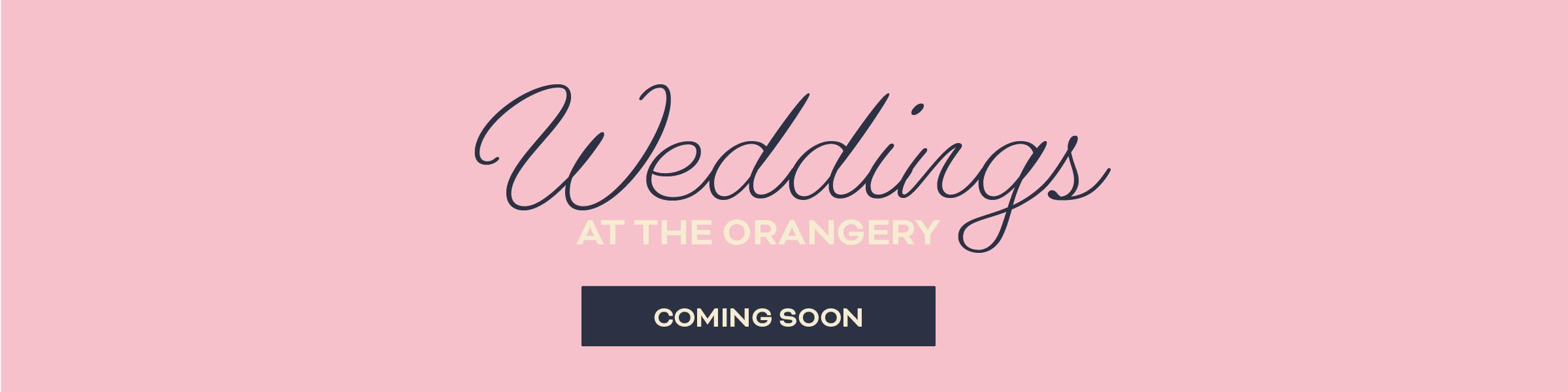 Weddings at Ingestre - coming soon